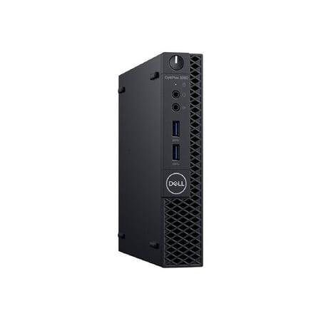 Dell OptiPlex 3000 3060 Desktop Computer - Intel Core i3 (8th Gen) i3-8100T 3.1GHz - 4GB DDR4 SDRAM - 500GB HDD - Windows 10 Pro