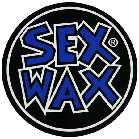 Mr. Zoggs SEX WAX STICKER 2