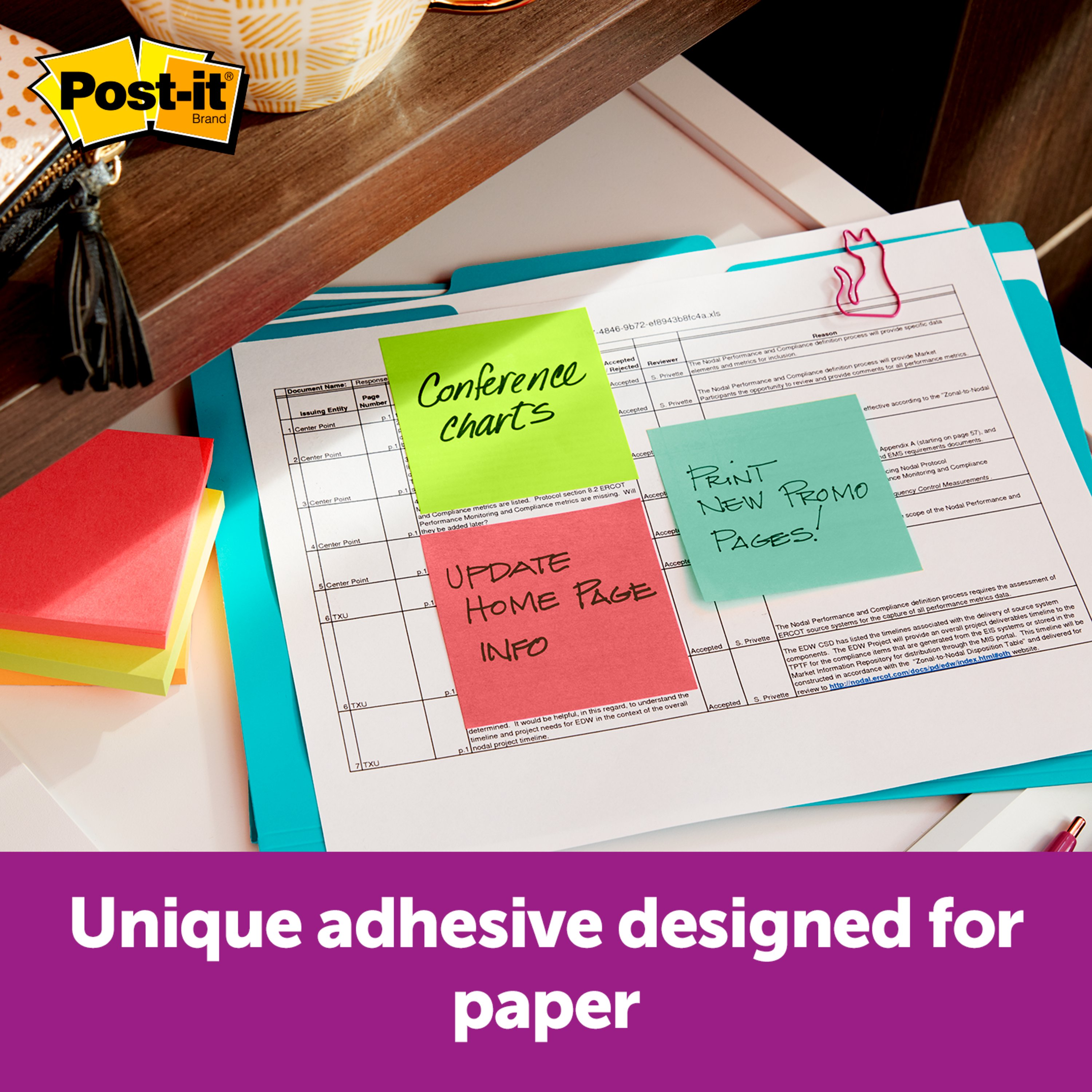Call Out Important Information Designed for Pop-up Note Dispensers Pink Green Blue 12 Pads//Pack, 3 in R330-N-ALT Orange Post-it Pop-up Notes Yellow x 3 in