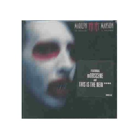 """Personnel: Marilyn Manson (vocals, guitar, saxophone, Mellotron, synthesizer, bass, drums, loops); John (guitar, strings, piano); Tim Skold (guitar, accordion, keyboards, synthesizer, bass, programming); MW Gacy (keyboards, synthesizer, loops); Ginger Fish (drums).Producers: Marilyn Manson, Tim Skold, Ben Grosse.Recorded at Doppelherz, The Mix Room, Burbank, California and Ocean Way Studios, Los Angeles, California.""""Mobscene"""" was nominated for the 2004 Grammy Award for Best Metal Performance.Marilyn Manson proudly wears his musical influences on his band"""