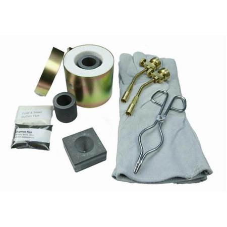 - Make Your Own Gold Bars FFC-9 Mini Propane Gas Furnace Kit - Conical Mold, Kiln, Tips, Gloves, Crucibles & Tongs