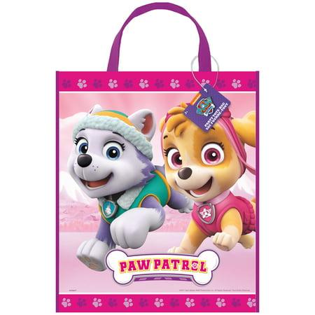Large Plastic Skye PAW Patrol Goodie Bag, 13 x 11 in, 1ct](Handmade Halloween Goodie Bags)