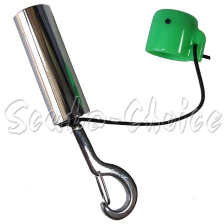 Scuba Air Tank (Scuba Choice Scuba Diving Safety Tank Rattle Stick Signal Bell with Clip, Green )