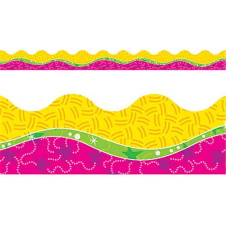 - Trend Enterprises Inc. T-92357 Owl Stars Pink Pattern Terrific Trimmers