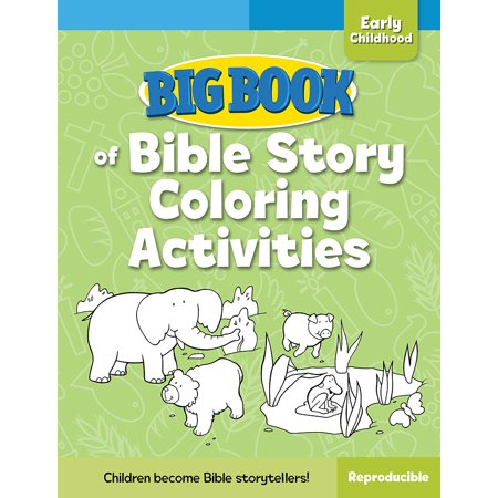 Big Book of Bible Story Coloring Activities for Early (Definition Of Spiritual Development In Early Childhood)
