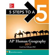 5 Steps to a 5: AP Human Geography 2017 - eBook