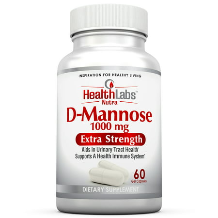 Health Labs Nutra D Mannose 1 000Mg  Fight Urinary Tract Infections   Promote A Healthy Bladder  30 Day Supply