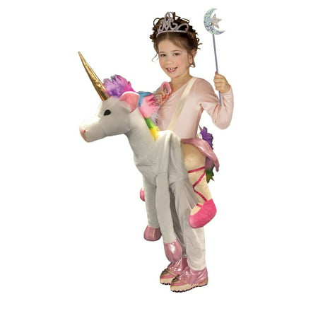 Girls Ride On Unicorn Costume - Riding Unicorn Costume