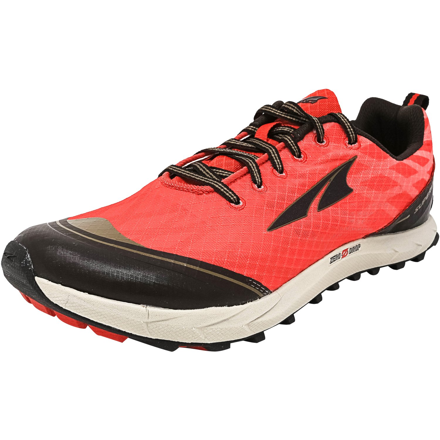 Altra Women's Superior 2.0 Poppy Red / Chocolate Ankle-High Running Shoe - 10.5M