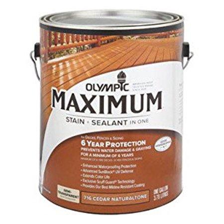 Max Sealant Exterior Semi Transpa Oil Cedar 1 Gal
