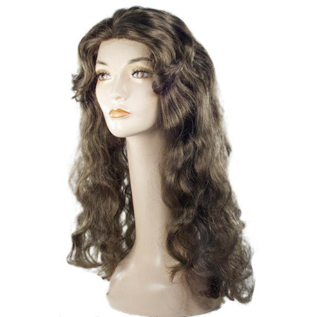 Showgirl Deluxe Large Straw Blonde 27C Wig Costume - image 1 of 1