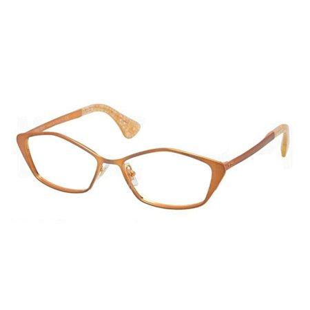 Miu MIu MU53LV-LAE1O1 Cat Eye Women's Bronze Frame Genuine Eyeglasses (Miu Miu Eyeglass)