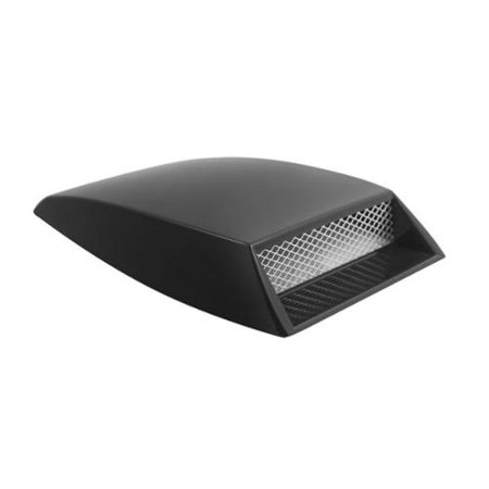 Black Mini Hood Scoop ABS Plastic