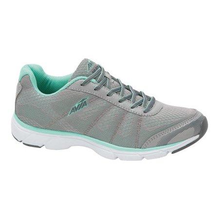 1e523e5195c32 avia women's avi-rove sneaker, penguin grey/mint breeze/steel grey, 11  medium us