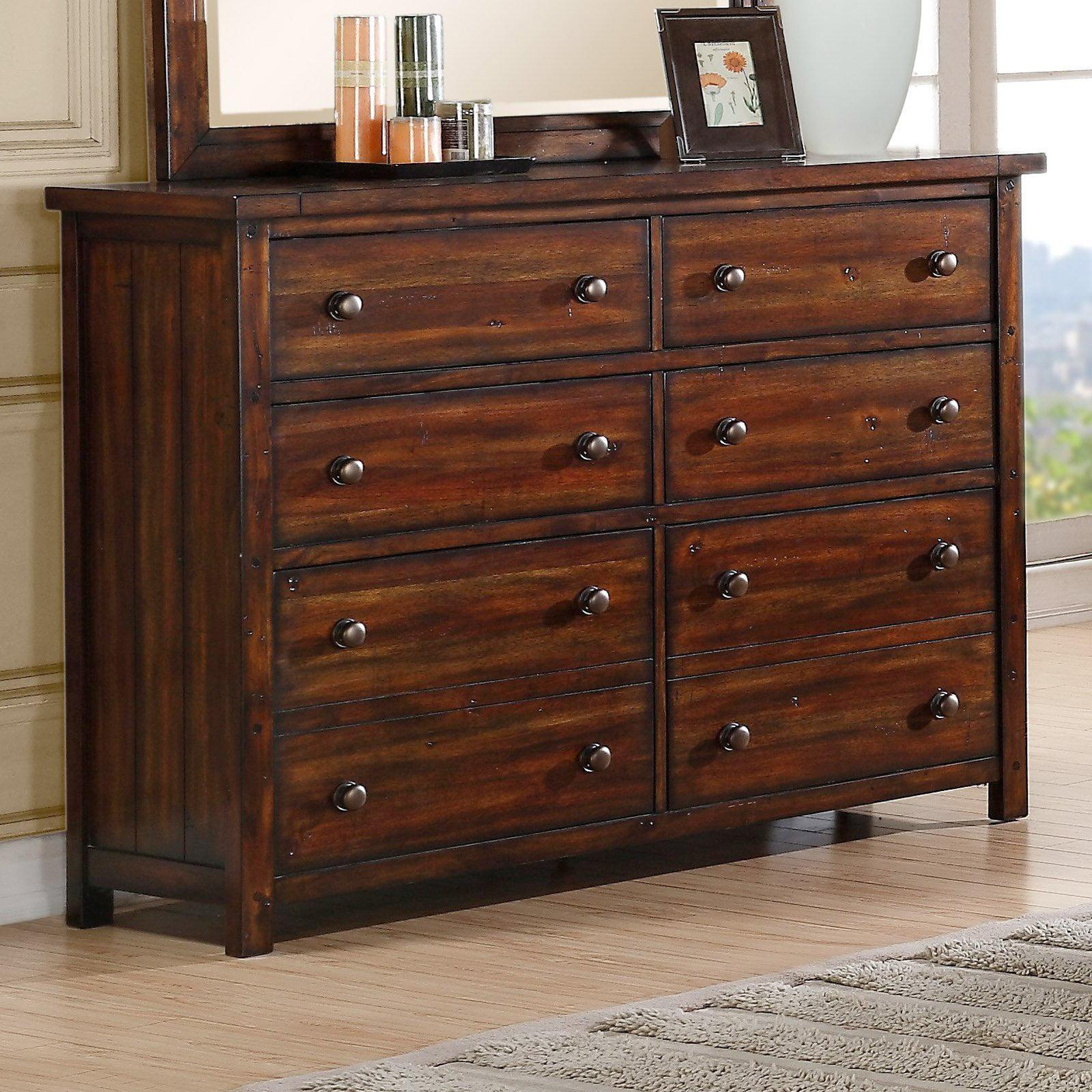 Picket House Furnishings Danner Dresser in Chestnut