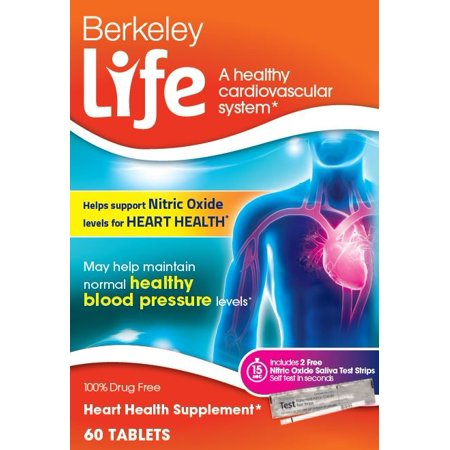 Berkeley life heart health tablets, 60 ct (Life Health)