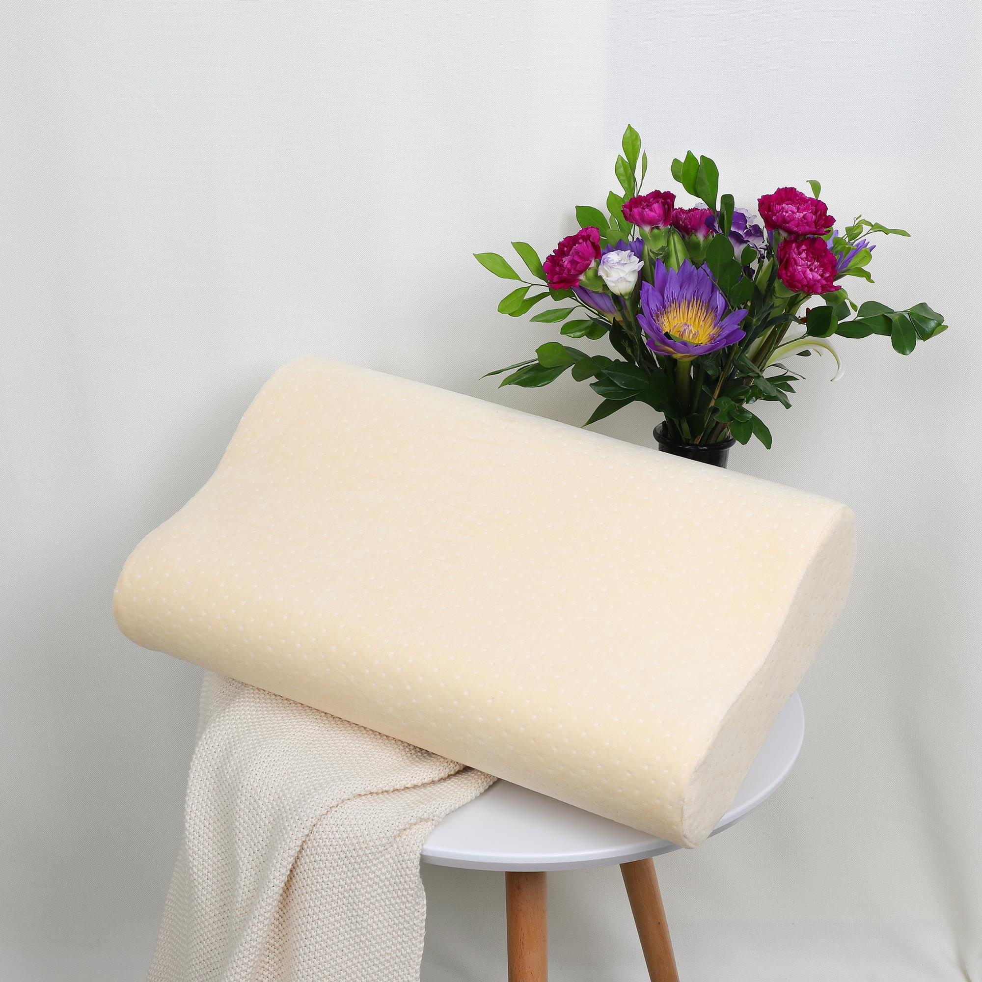 Contoured Memory Foam Pillow ! Neck Pillow Sleep Pillow Bed 50 x 30 cm