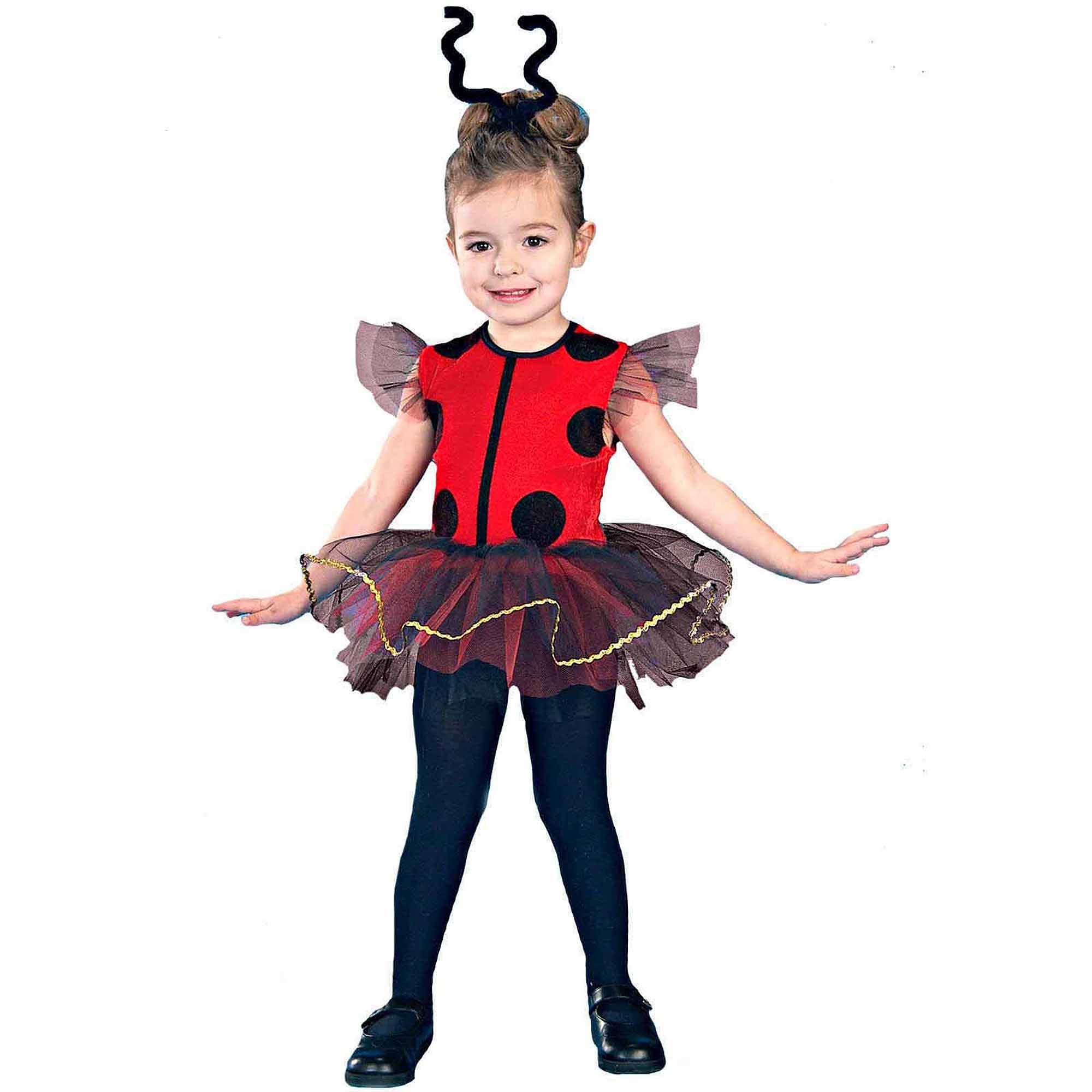 Lilu0027 Ladybug Toddler Halloween Costume  sc 1 st  Walmart & Lady Bug Costumes