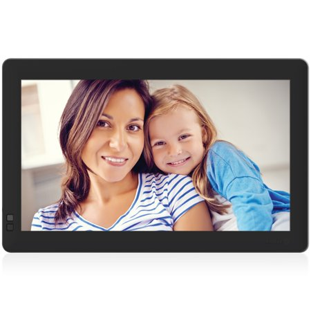 - Nixplay Seed 13.3 inch Wi-Fi Cloud Digital Photo Frame with IPS Display, iPhone & Android App, iOS Video Playback and Hu-Motion Sensor - Black (W13B)