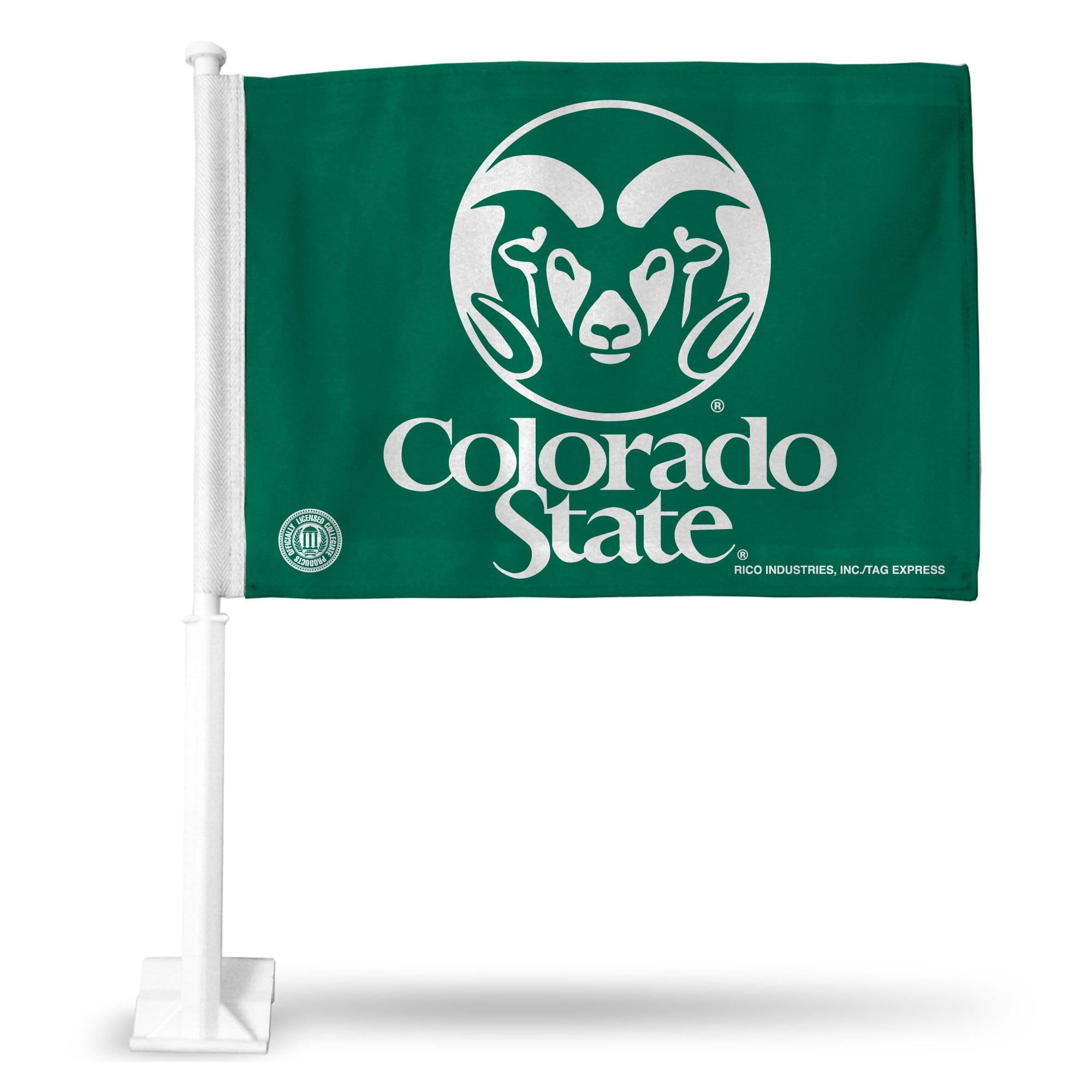 Rico Car Flag - NCAA Colorado State