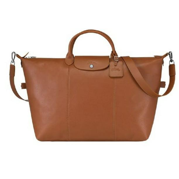 LongChamp Le Foulonne Travel Bag Large Duffel Overnight Handbag