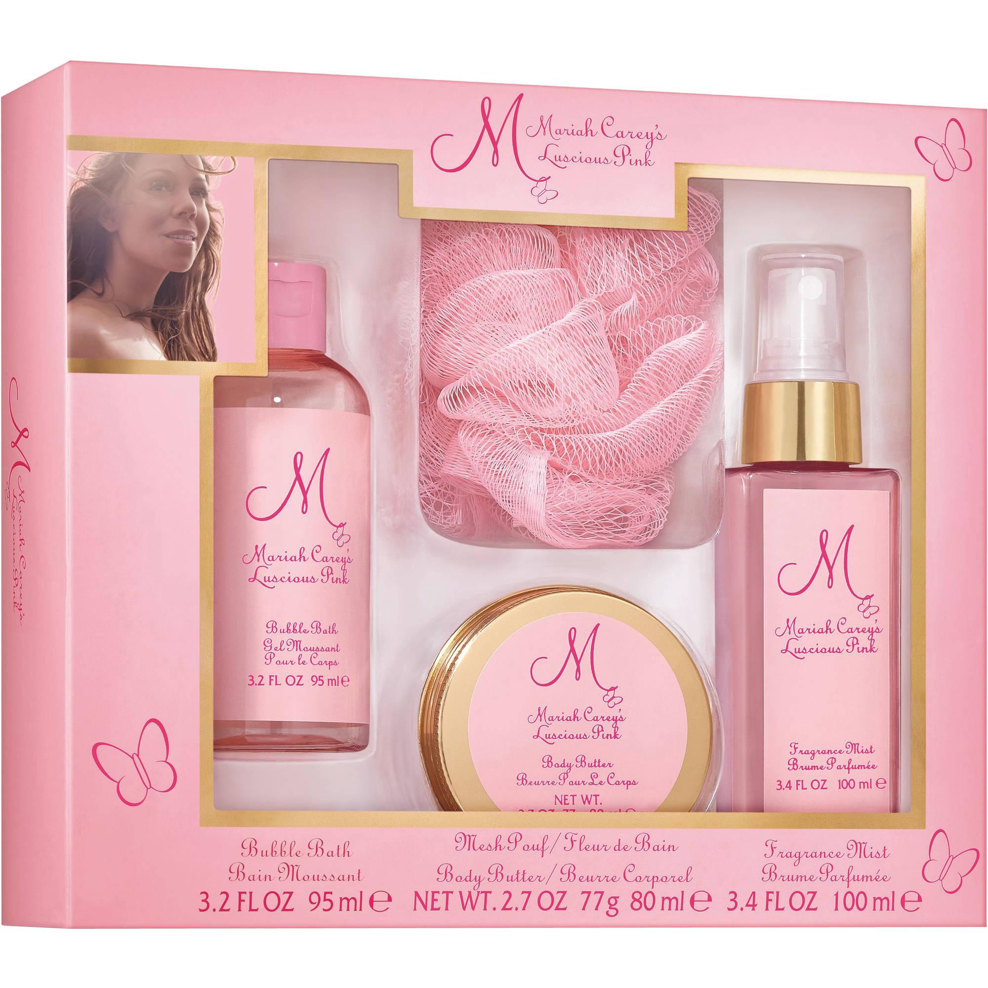 Mariah Carey S Luscious Pink Fragrance Gift Set 4 Pc