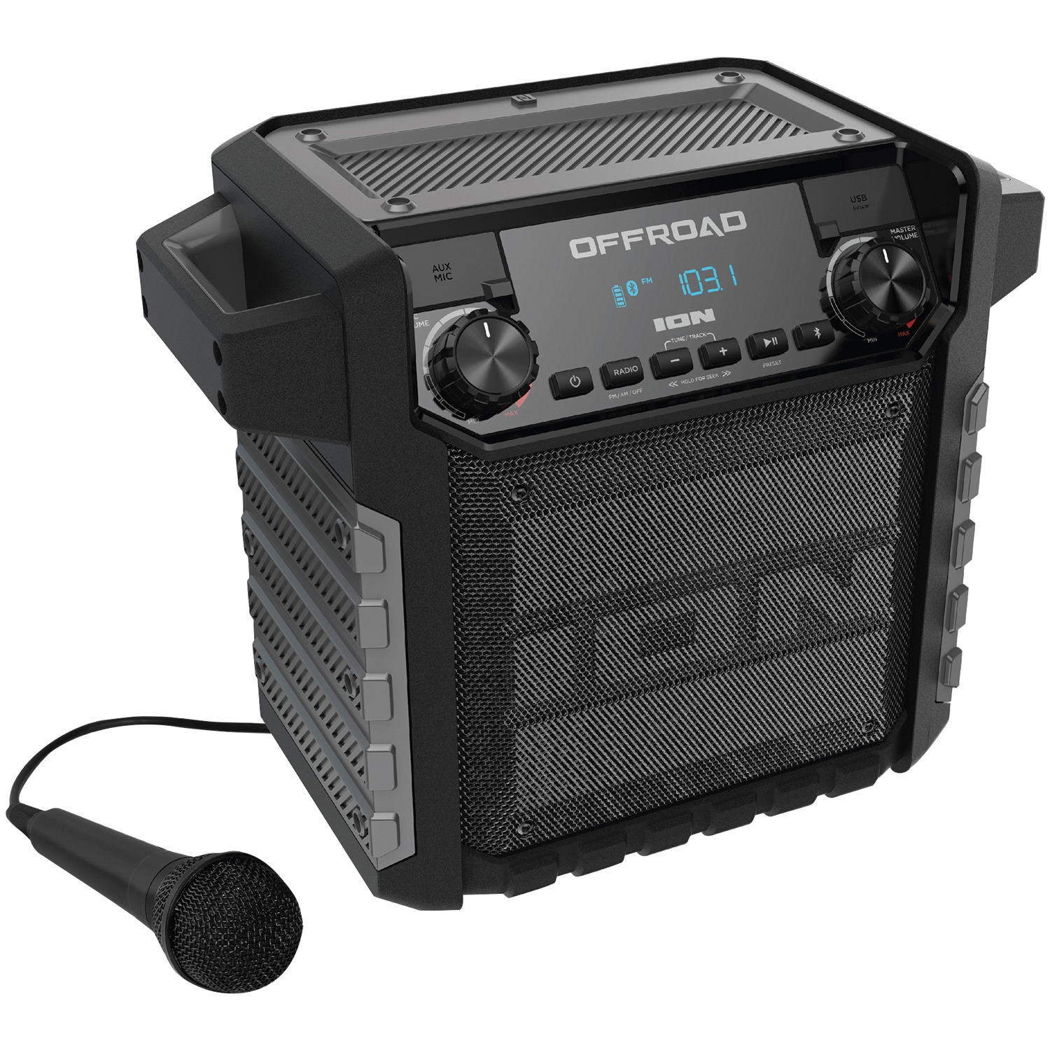 Ion Audio IPA67 Offroad All-Weather Bluetooth Speaker System