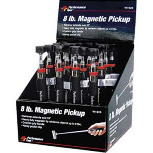 Performance Tool W9101 8 Lb Magnetic Pick-Up Tool