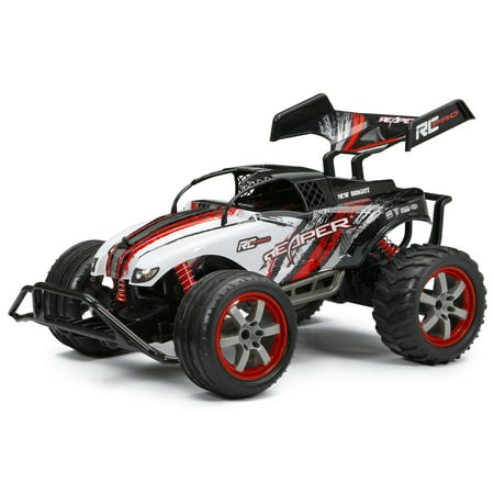 New Bright 1:10 R/C Full-Function 9 6V Pro Reaper, White
