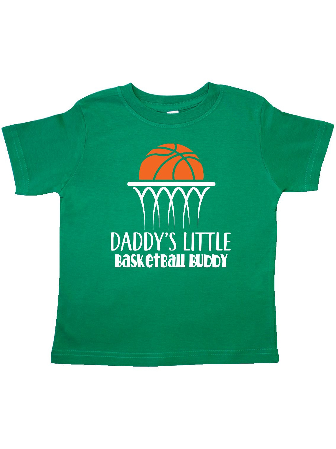 Daddys Little Basketball Buddy Boys Toddler T-Shirt