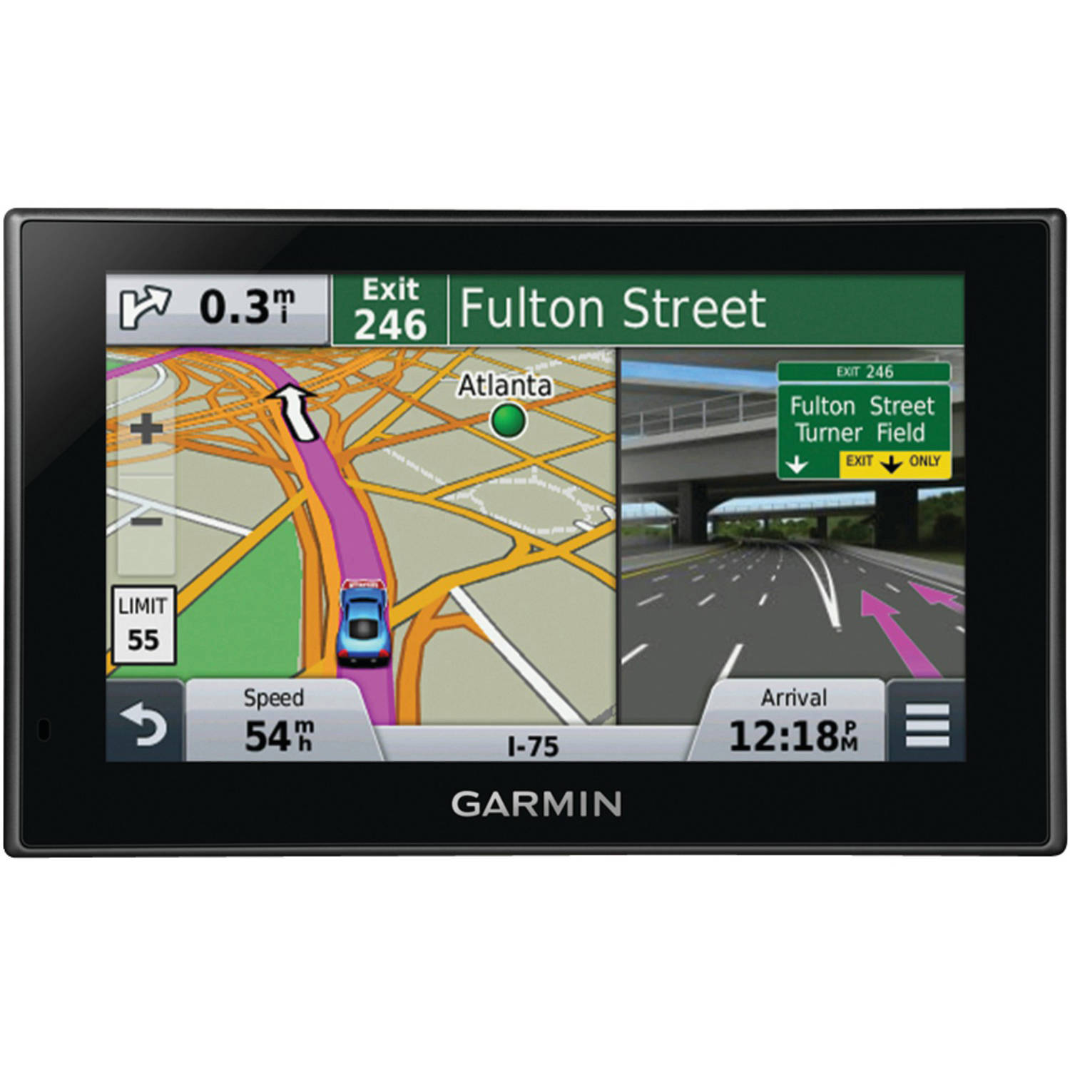"Garmin nuvi 2589LMT 5"" Travel Assistant with Free Lifetime Maps and Traffic Updates"