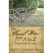The Civil War from a to Z - eBook
