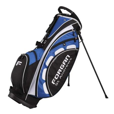 FORGAN GOLF BLUE PRO ll DUAL SHOULDER STRAP STAND BAG Tech Golf Stand Bag