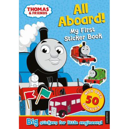 Thomas the Tank Engine All Aboard! My First Sticker Book](Thomas Stickers)