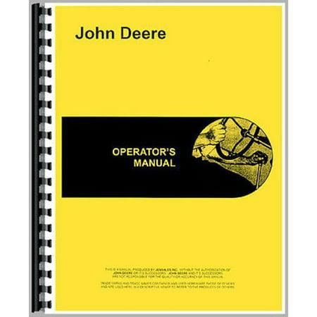 New Operators Manual For John Deere Tractor (Garden Tractor Operators Manual)