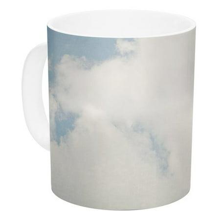 East Urban Home Carnival Tent By Susannah Tucker 11 Oz  Sky Clouds Ceramic Coffee Mug