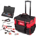 Hyper Tough 174-Piece Tool Set with Trolley Bag