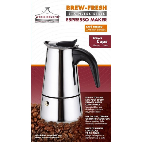 Wee's Beyond Brew- Fresh Expresso Maker