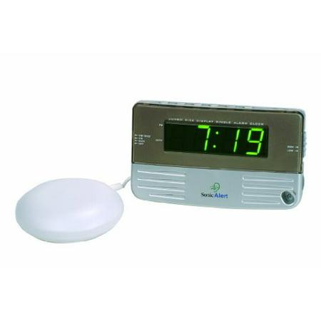 sonic alert sb200sseu alarm clock w bed shaker. Black Bedroom Furniture Sets. Home Design Ideas