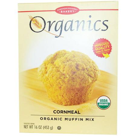 - European Gourmet Bakery, Organics, Cornmeal Muffin Mix, 16 oz(pack of 4)
