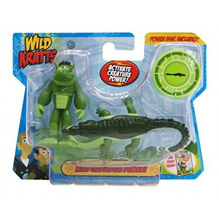 Wild Kratts Toys -  Creature Power Action Figure Set - Nile Crocodile Power
