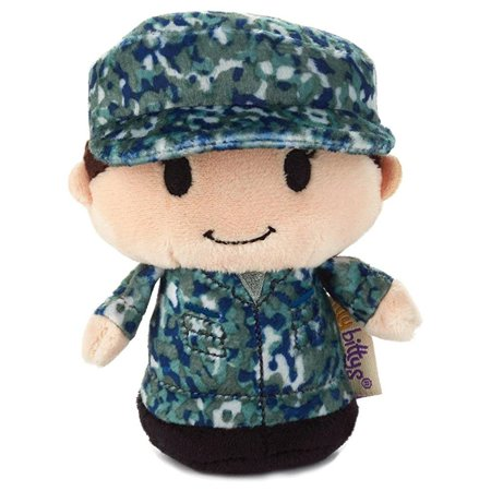 hallmark itty bittys blue camo military stuffed animal](Camo Stuff)