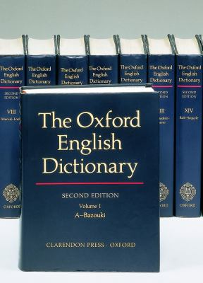 The Oxford English Dictionary by