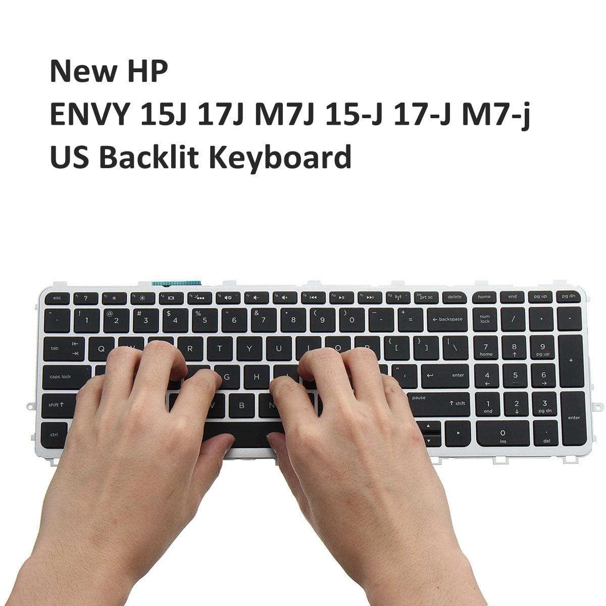 US Backlit Keyboard 720244-001 736685-001 FOR HP ENVY 15J 17J M7J backlitkeyboard 15-J 17-J M7-J