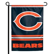 "Chicago Bears WinCraft 12"" x 18"" Double-Sided Garden Flag"