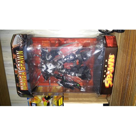 1997 Spawn Action Figure - Special Edition Manga Spawn in Tank Display Case, 1997 Spawn Action Figure - Special Edition Manga Spawn in Tank Display.., By McFarlane From USA