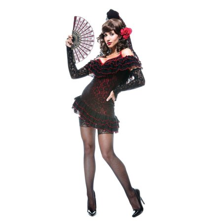 Lady Of Spain French Kiss Costume for $<!---->