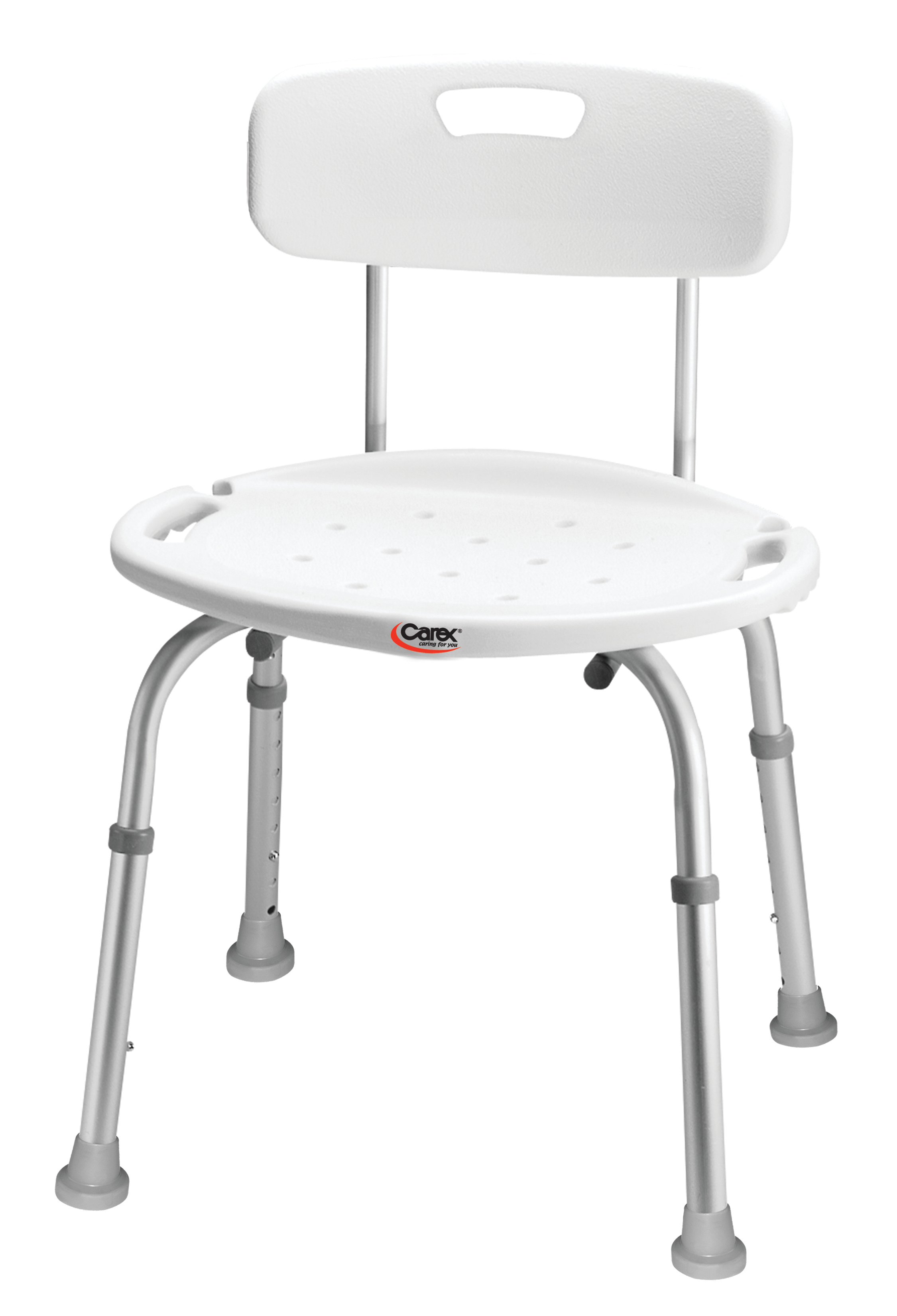 carex adjustable shower chair bath seat with back