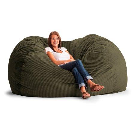 Original Fuf Chair 7 Ft Xxl Wide Wale Corduroy Bean Bag