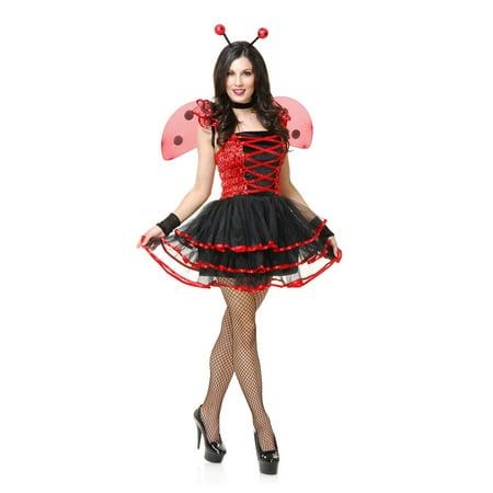 Adult Ladybug Costumes (Halloween Lady Bug Cutie Adult)